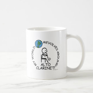 Alto Clarinet World Revolves Around Mugs