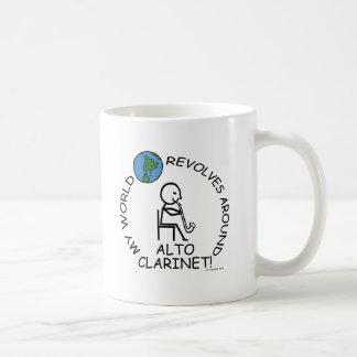 Alto Clarinet - World Revolves Around Mugs