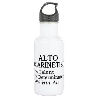Alto Clarinetist Hot Air Water Bottle