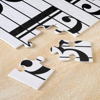 Alto Clef Jigsaw Puzzle