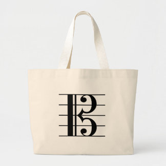 Alto Clef Large Tote Bag