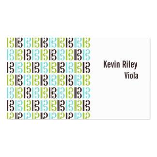 Alto Clef Music Business Card