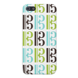 Alto Clef Pattern Cases For iPhone 5