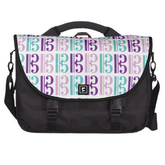 Alto Clef Pattern Bag For Laptop