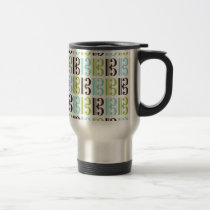 Alto Clef Pattern Travel Mug