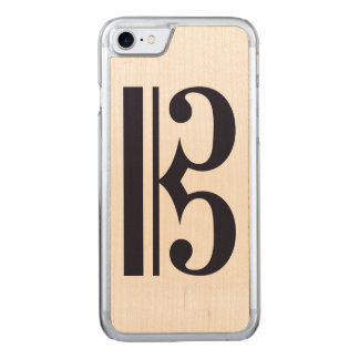 Alto Clef Phone Carved iPhone 7 Case