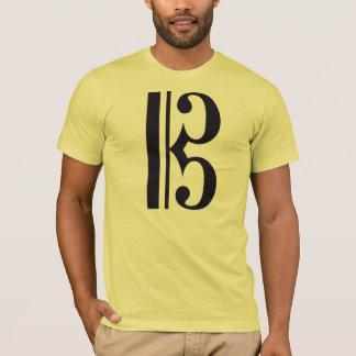 Alto Clef (Viola Shirt) by Leslie Harlow T-Shirt