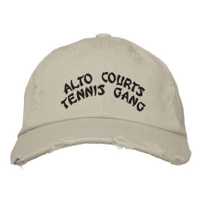 ALTO COURTStennis gang Embroidered Baseball Caps