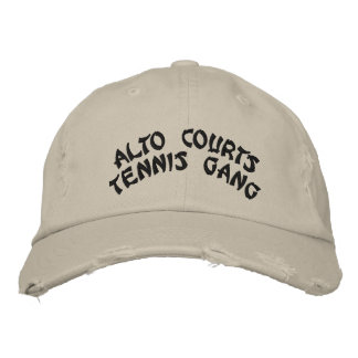 ALTO COURTStennis gang Embroidered Hat