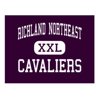 Alto de nordeste de Richland - Cavaliers - - Postal