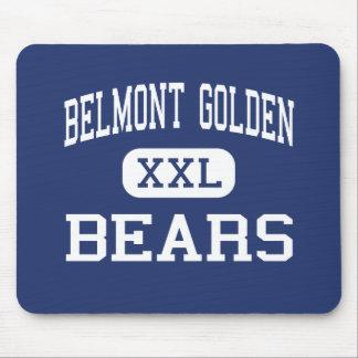 Alto de oro de Belmont - osos - - Belmont Nueva Yo Mouse Pads