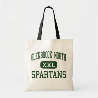 Alto del norte de Glenbrook - Spartans - - Northbr Bolsas Lienzo