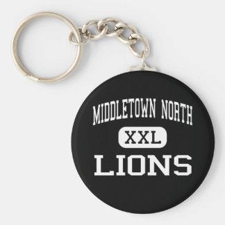 Alto del norte de Middletown - leones - - Middleto Llavero