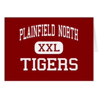 Alto del norte de Plainfield - tigres - - Plainfie Tarjeta De Felicitación