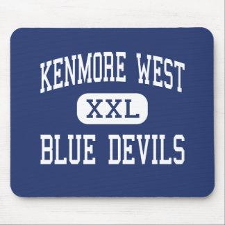 Alto del oeste de Kenmore - diablos azules - - Ton Alfombrillas De Raton