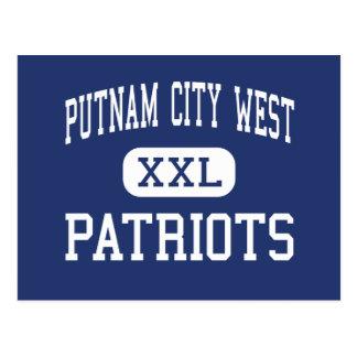 Alto del oeste de la ciudad de Putnam - patriotas Tarjetas Postales