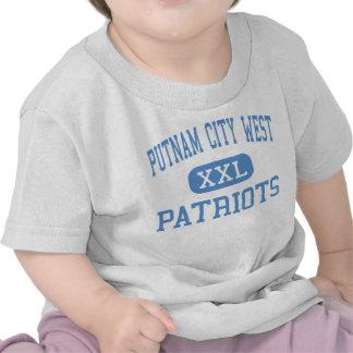 alto del oeste de la ciudad del putnam - patriotas camiseta