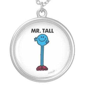 Alto derecho de Sr. Tall el | Colgante Redondo