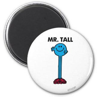 Alto derecho de Sr. Tall el | Imán Redondo 5 Cm