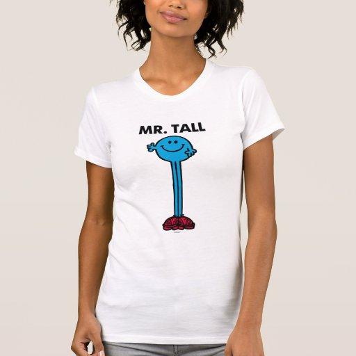 Alto derecho de Sr. Tall el | Playera