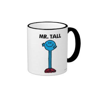 Alto derecho de Sr. Tall el   Taza A Dos Colores
