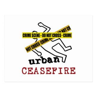 Alto el fuego urbano postal