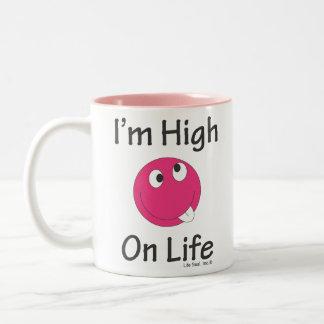 Alto el vida - esta taza divertida hará que usted