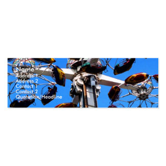 Alto en la tarjeta del perfil del cielo II Plantilla De Tarjeta De Negocio