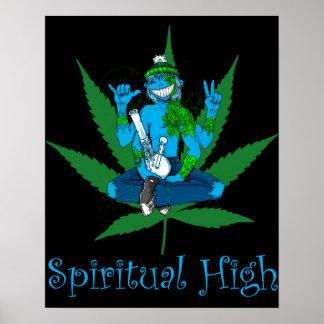 Alto espiritual póster
