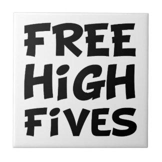 Alto Fives libre Azulejo Cuadrado Pequeño