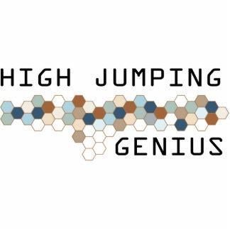 Alto genio de salto esculturas fotograficas