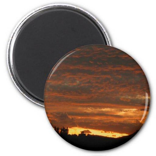 Alto imán #3 de la puesta del sol del desierto