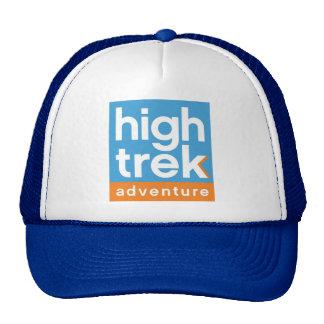 Alto logotipo de la aventura del viaje gorras