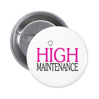 Alto mantenimiento pins