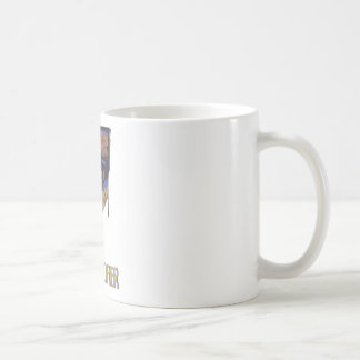 Alto marcador taza básica blanca