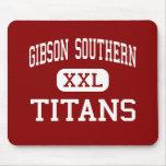 Alto meridional de Gibson - titanes - - rama del f Tapetes De Ratones