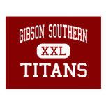 Alto meridional de Gibson - titanes - - rama del Postal