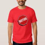 Alto Moción Montreal Logotipo y Sitio de Internet Playera