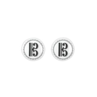 Alto or Tenor Clef Music Note Design C Clef Earrings