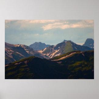 Alto país 1 de Durango Posters