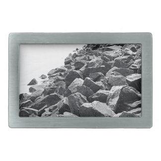 Alto paisaje dominante de la pared de mar de hebillas de cinturon rectangulares