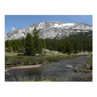 Alto parque de la corriente II Yosemite de la Postal
