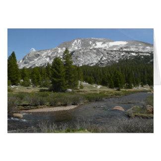 Alto parque de la corriente II Yosemite de la Tarjeta De Felicitación