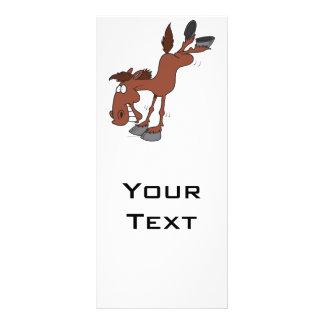alto personaje de dibujos animados tonto del cabal tarjeta publicitaria personalizada