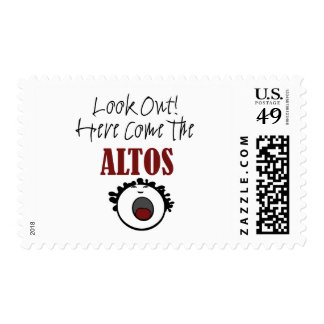 Alto Postage Stamp