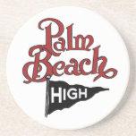 Alto práctico de costa #1 del Palm Beach Posavasos Cerveza