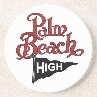 Alto práctico de costa #1 del Palm Beach Posavasos Personalizados