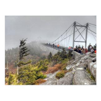 Alto puente de balanceo de la milla postal