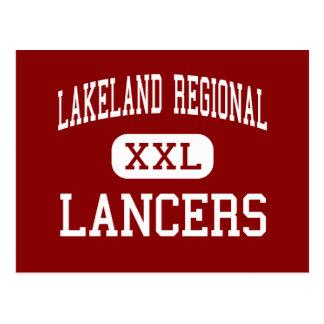 Alto regional de Lakeland - lanceros - - Wanaque Tarjeta Postal