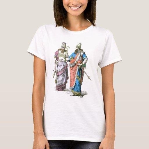 Alto sacerdote y rey asirios playera